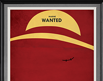 One Piece - wanted - minimal poster