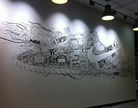 NIKE Heritage Mural