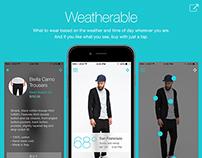 Weatherable App