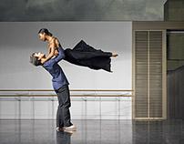 Carolyn Bolton & Pierre Tappon. Rambert. Sept 2014.