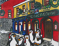 Galway Christmas Card Collection