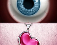 Eye & Heart Pendant Spots