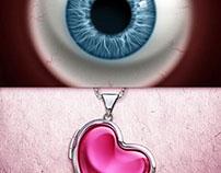 Eye & Heart Pendant Spots