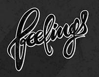 Feelings - Lettering