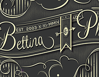 Wedding Logo: Bettina & Phil