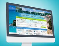 Easyvoyage.com, UX & Webdesign