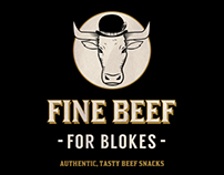 Fine Beef - Branding, illustration & graphic design