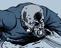 Zombie O. Illustration.