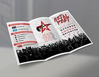 MetalFest broşür tasarımı