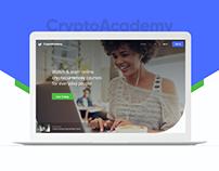 Crypto Academy UI/UX Design