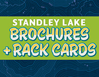 Standley Lake Brochures + Rack Cards