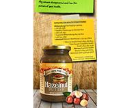 Almondie Hazelnut Butter Banner Ad
