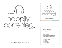 Happily Contented | Branding + Logo Design