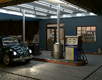 Gas Station - Personal project