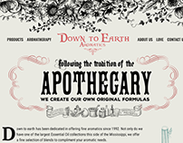 Apothecary Website Concepts