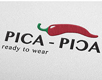 Logotipo para Pica - Pica. Ready to wear.
