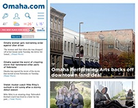 Newspaper Website Re-Design