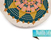 Starlight pattern design Cushion
