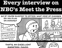 Meet the Press editorial cartoon