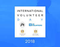 international Volunteer Day in Egypt - Design