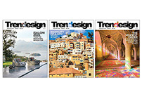 Trendesign Magazine Covers (Dec 2012 - Sept 2015)