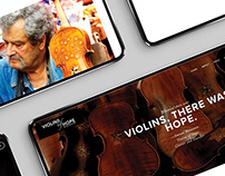 Violins of Hope Print and Digital Campaign