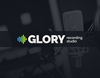Glory Website Theme for Recording Studios
