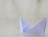 Paper Boats during a house flood in my apartment.