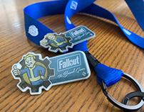 Fallout: The Board Game Pin & Lanyard