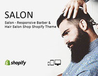 Salon – Responsive Barber & Hair Salon Shopify Theme