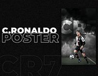 C.RONALDO POSTER