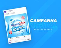 Campanha 10 anos - FarmaVip