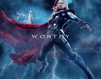 Everyone is Worthy Poster Series