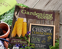 Gardening at Home • Identity • Layout