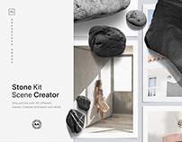 Realistic Stone Kit Scene Creator