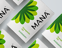 Mana - Packaging for therapeutic tea