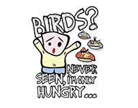 Characters - Logo - T-shirts