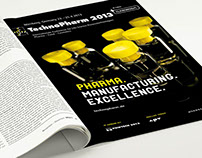 """NürnbergMesse - """"TechnoPharm"""" Branding"""