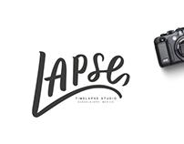 LAPSE   Lettering Logo Design