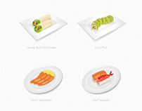 Small icon/illustration sets for different projects