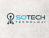 Logo Design For SoTech Teknoloji software company