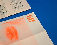 TIFF Varda Retrospective Promotional foldout calendar