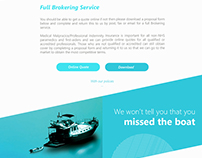 PIA - Paramedic Insurance  - Website Design in London