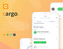 Delivery app for logistics companies