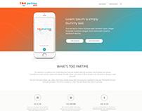 Too Partime - Website