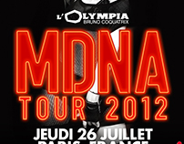 Madonna - Olympia 2012 poster statement