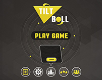 Tilt Ball UI Design