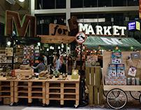 M for Market - Homeless pop up market