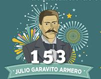 Cumpleaños de Julio Garavito Redes Sociales
