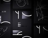 Nike 1:1 — Branding